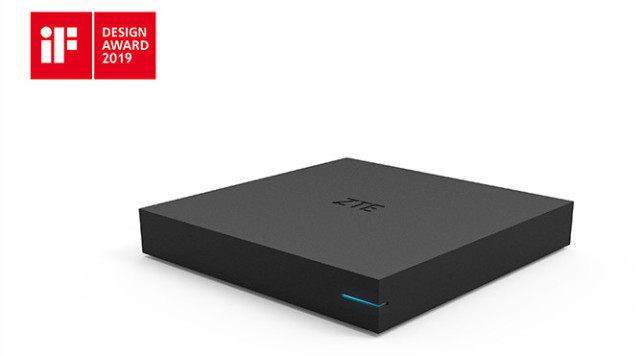 中兴发布新款8K盒子:加持5G+8K+AI 未来全新大屏标配