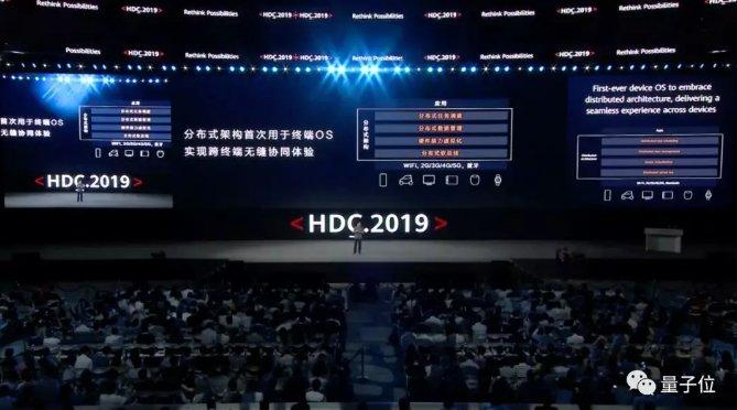 余承东表示鸿蒙OS可随时可替换安卓