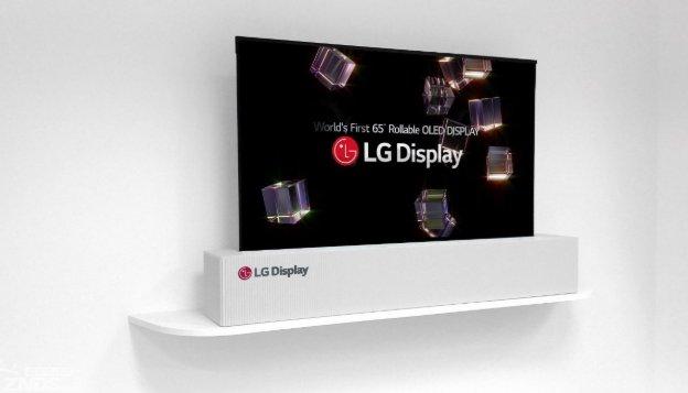 LG可卷曲电视LG Signature OLED TV R荣获IDEA2019金奖