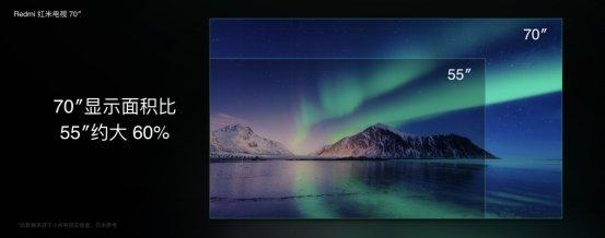 70英寸巨屏!小米首款Redmi红米电视来了,售价3799元