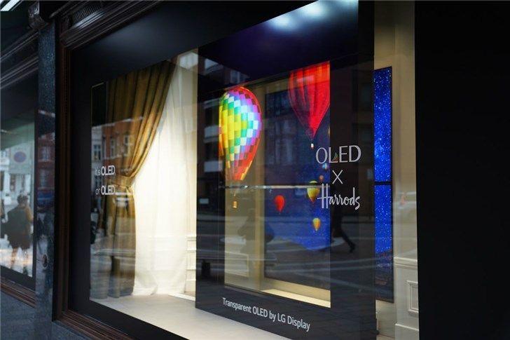 LG展示透明OLED屏,普及还需时日_-_热点资讯-艾德百科网