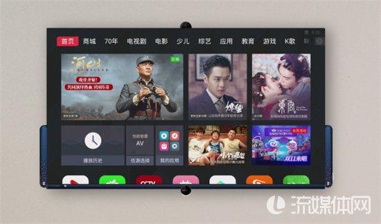 康佳推出全新易柚系统 搭载全景AI语音及AI摄像头