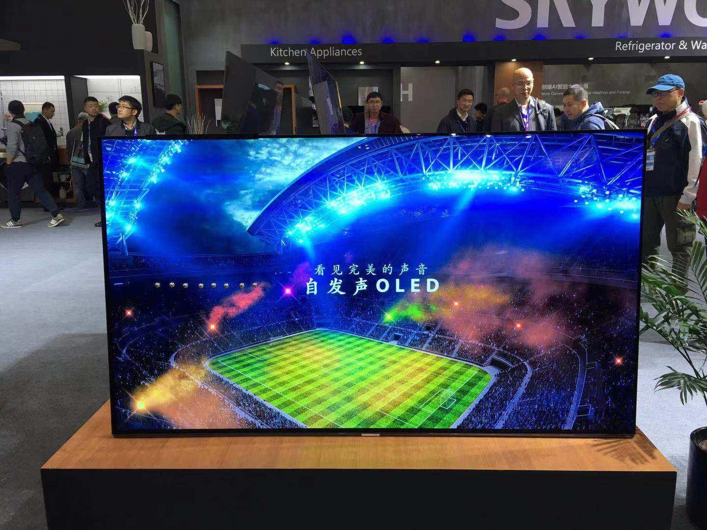 大尺寸OLED面板投资大幅增多 中日韩OLED竞赛也将进入新阶段