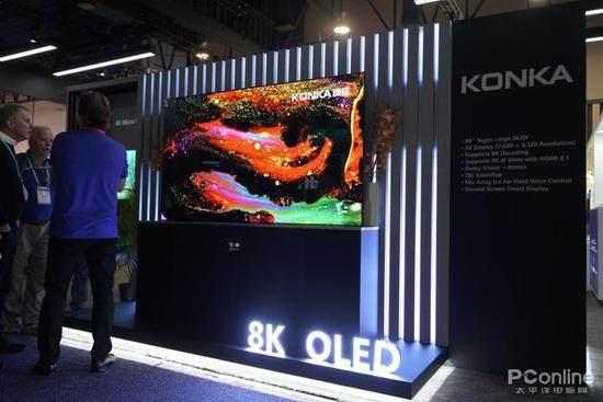康佳携Micro LED电视和多款OLED电视亮相CES_-_热点资讯-货源百科88网