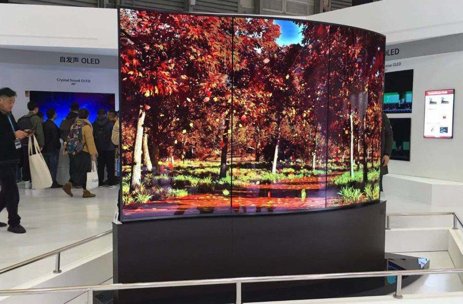 全球OLED电视季度销量首超100万台 LG占54%市场份额