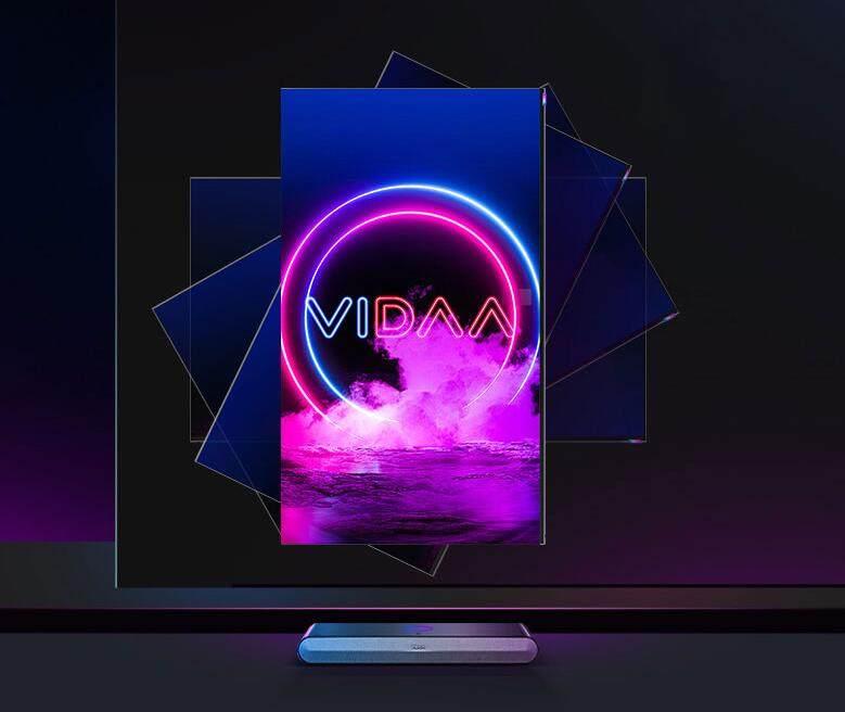 旋转新视界 海信VIDAA V5F自旋转竖屏电视上市_-_热点资讯-苏宁优评网