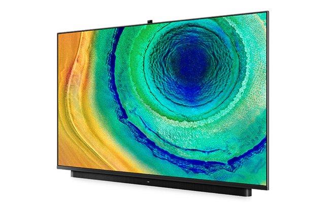 华为智慧屏V65i上线预售:4+32GB,配备AI升降摄像头