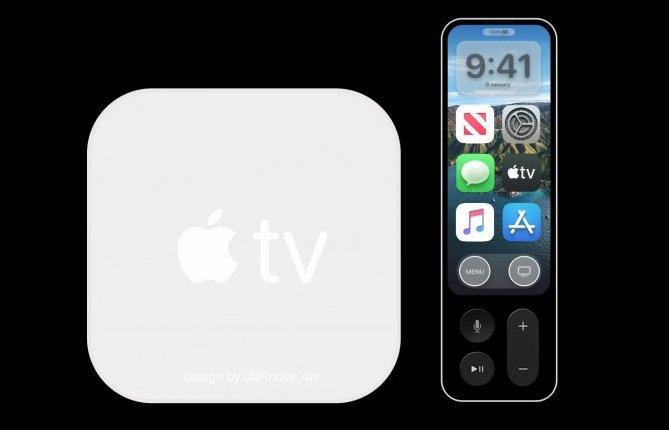 Apple TV 6概念图曝光 遥控器带有显示屏