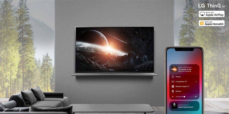 LG表示目前无计划将AirPlay2和HomeKit带到2018款电视_-_热点资讯-货源百科88网
