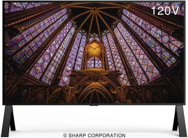 夏普发布新一代8K电视 600尼特亮度,支持HDMI 2.1_-_热点资讯-货源百科88网