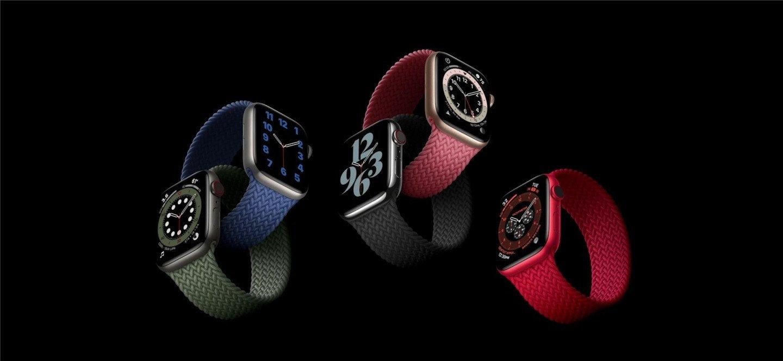 Apple Watch Series 6上线:支持血氧监测 399 $起卖