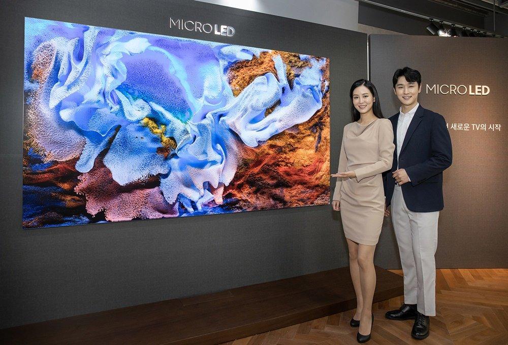 三星推出2020新款Micro LED电视 售价约1.7亿韩元