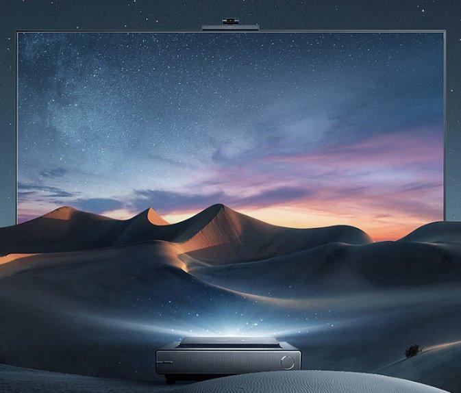 海信推出新款激光电视L9F系列,首次搭载智能摄像头