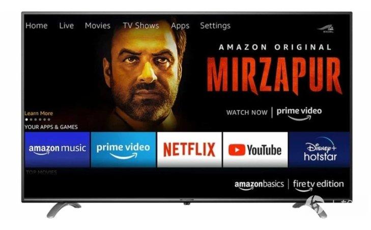 Amazon在印度推出首个自家品牌电视产品