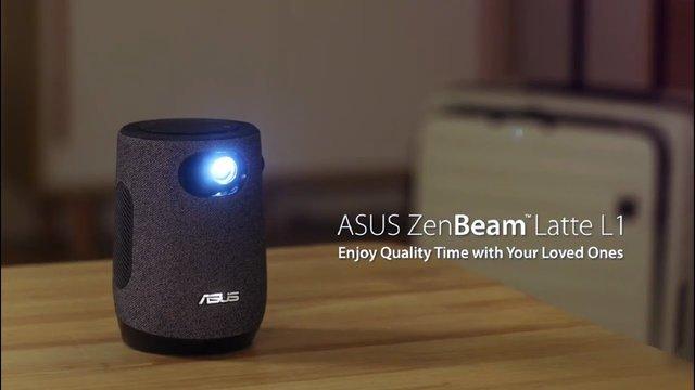 华硕推出ZenBeam Latte L1便携投影仪,内置哈曼扬声器