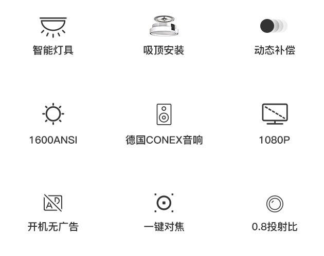 小迪K2投影灯 集投影和灯具于一身 售价6999元