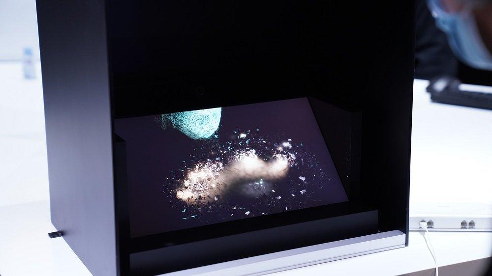 【AWE现场】索尼空间现实显示屏将在国内上市,可实现裸眼3D