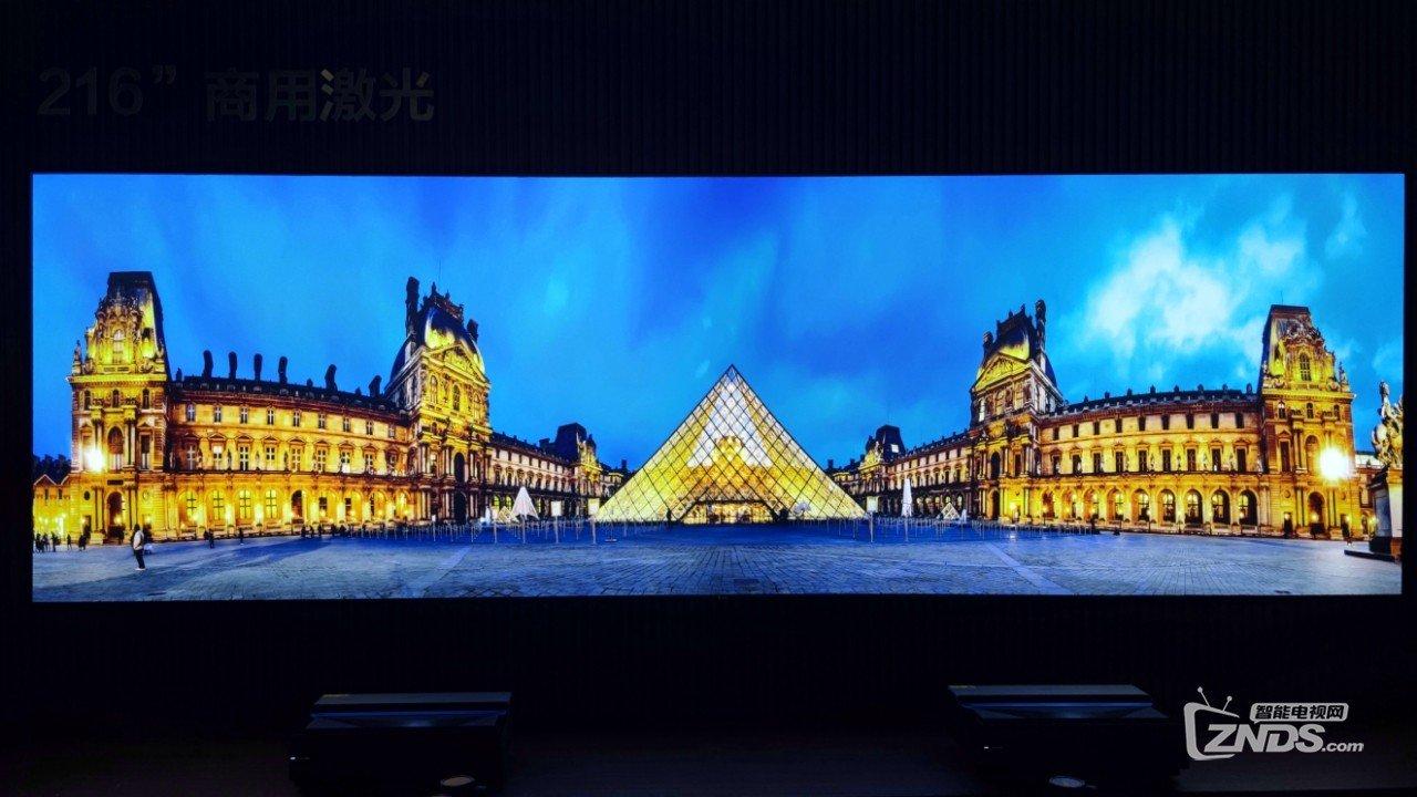 【AWE现场】海信最新智能电视、激光电视产品集体亮相