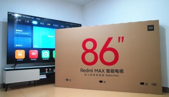 Redmi MAX 86英寸智能电视评测:大屏更震撼