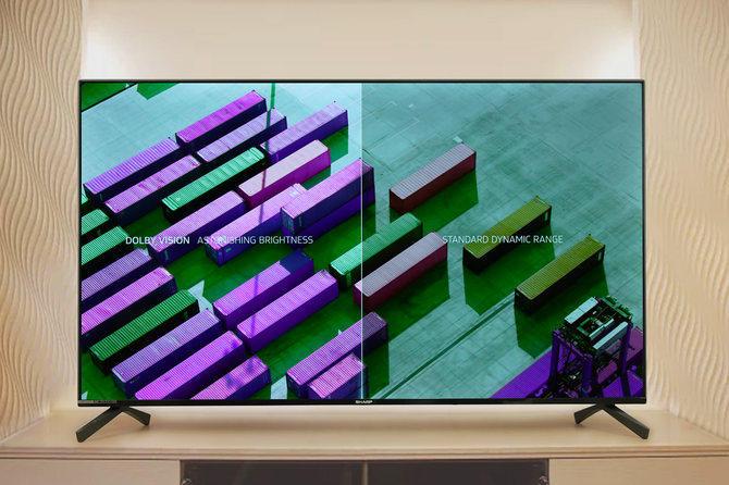 全面屏设计加持尽显精彩画质!夏普60英寸Q系列电视评测