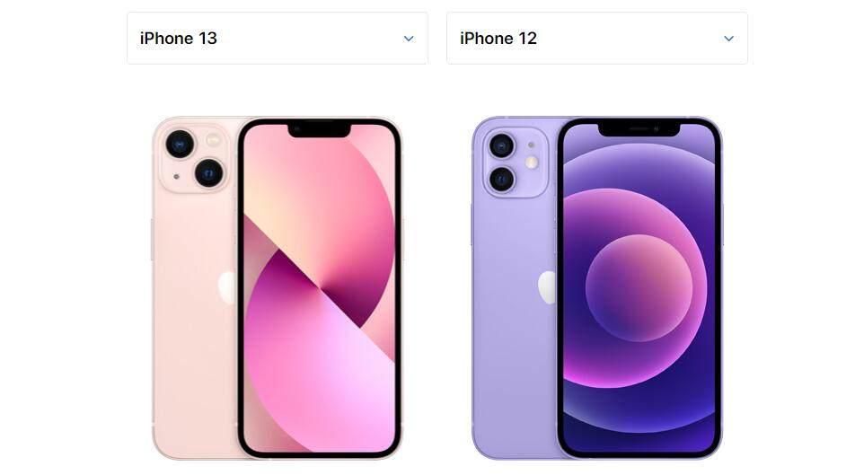 iphone13和12的区别 iphone13和12哪个好