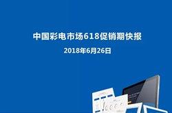 中国彩电市场618促
