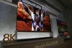 全球首款8K-5G电视商业化!三星和