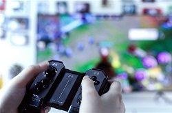 游戏玩家选择电视