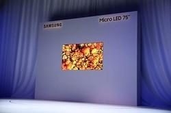 三星Micro LED电视生