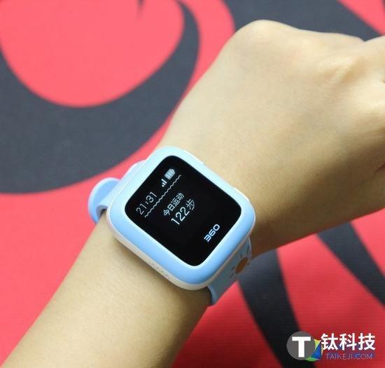 通话防走丢 360儿童卫士智能手表3评测