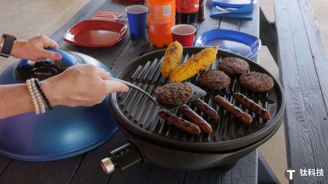 Bright Grill智能电烤架:支持蓝牙和WiFi