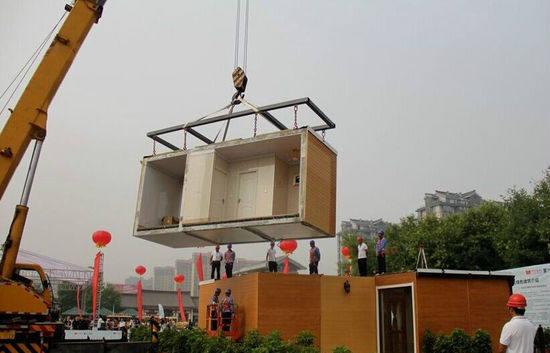3小时一座3D打印别墅 每平米均价3000元