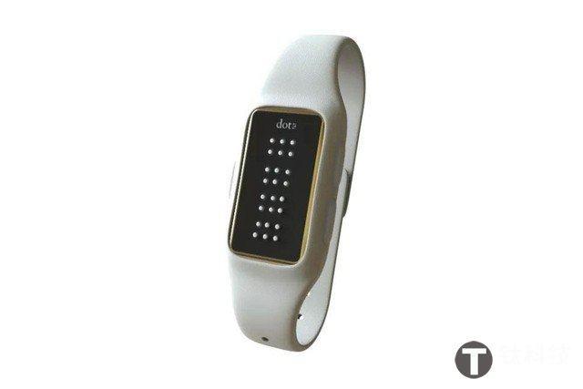 专为盲人设计 内置盲文的Dot智能手表年底上市「智能产品」