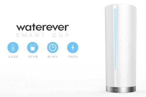 智能奇趣 可无线充电智能水杯Waterever