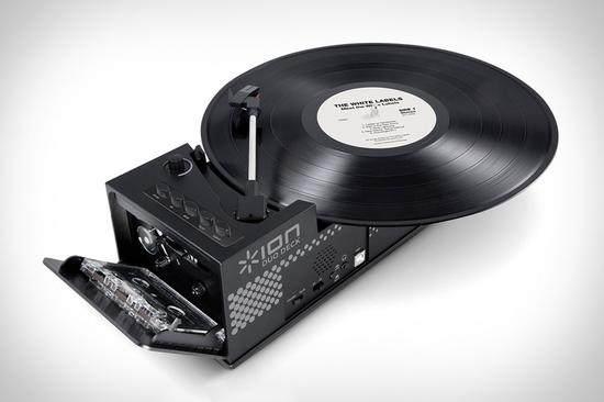 复古和时尚的典范 USB音箱底座能放磁带 还能放黑「智能产品」