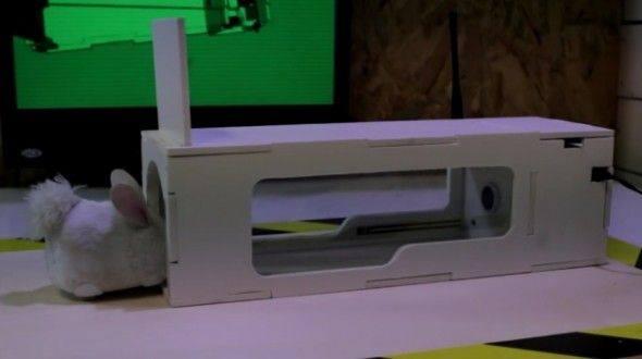 老鼠克星 RaspiTrap智能捕鼠器内装入红外传感器「智能产品」