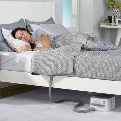 这个智能床垫可以通过温度调节提升睡眠质量