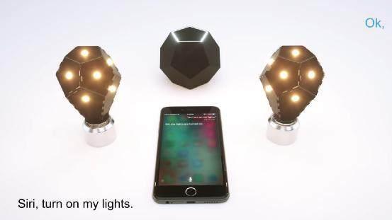 那个十二面体灯泡推新智能套件 兼容HomeKit