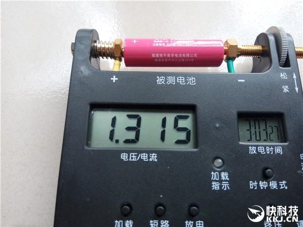 电池圈新杀手来了 小米彩虹5号电池对比评测