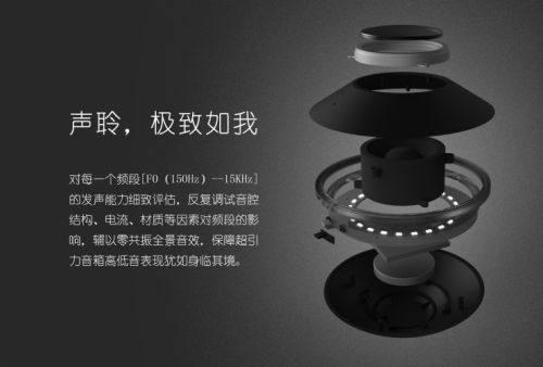 超引力磁悬浮蓝牙音箱亮相 轻智能主义已成风尚「智能产品」