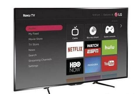 LG发布两款新品智能电视 搭载Roku系统LED背光屏