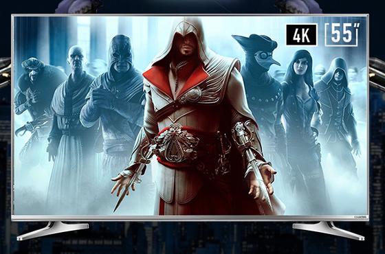 20核64位4K游戏电视 酷开55U2优缺点解析