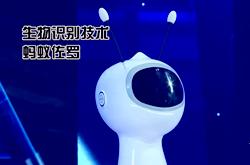 蚂蚁佐罗机器人进行眼纹识别 首次攻破多胞胎人脸识别难题