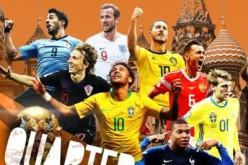 2018世界杯1/4决赛对