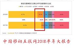 中国移动互联网发布2018半年报告