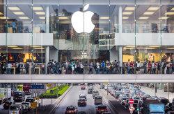 苹果中国区销售大