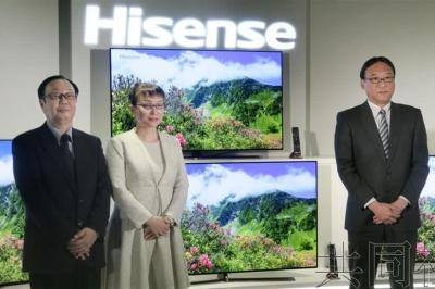 海信新型有机EL电视新品曝光:内置4K调谐器 将于4月上旬发售
