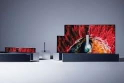 LG电子将于下半年推出卷轴电视 先