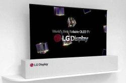 LG可卷曲电视发布