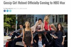 绯闻女孩重启HBO预